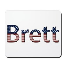 Brett Stars and Stripes Mousepad