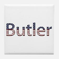 Butler Stars and Stripes Tile Coaster