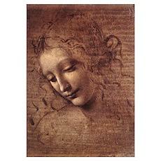 La Scapigliata by Leonardo da Vinci Poster
