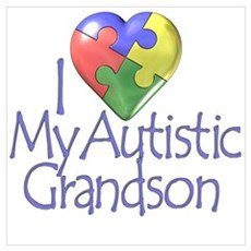 My Autistic Grandson Poster