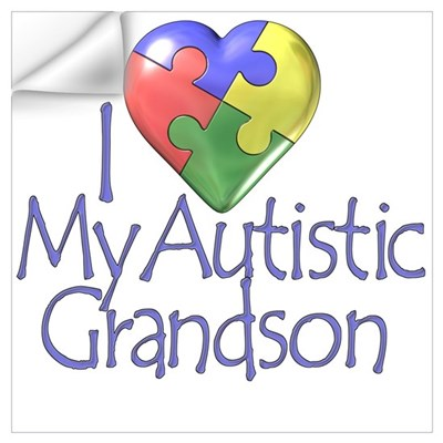 My Autistic Grandson Wall Decal