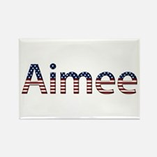 Aimee Stars and Stripes Rectangle Magnet