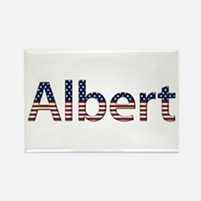 Albert Stars and Stripes Rectangle Magnet