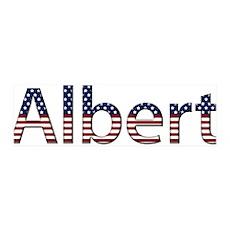 Albert Stars and Stripes 42x14 Wall Peel