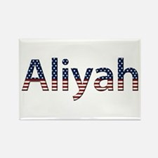 Aliyah Stars and Stripes Rectangle Magnet