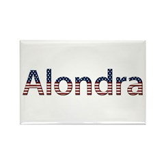 Alondra Stars and Stripes Rectangle Magnet