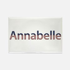 Annabelle Stars and Stripes Rectangle Magnet