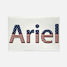 Ariel Stars and Stripes Rectangle Magnet
