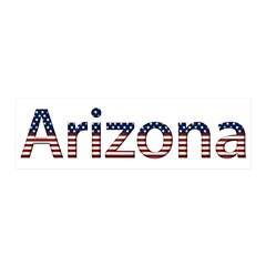 Arizona Stars and Stripes 21x7 Wall Peel