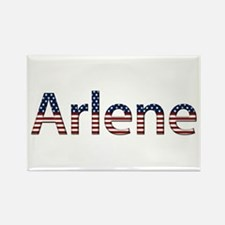 Arlene Stars and Stripes Rectangle Magnet