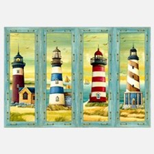 Funny Lighthouse Wall Art
