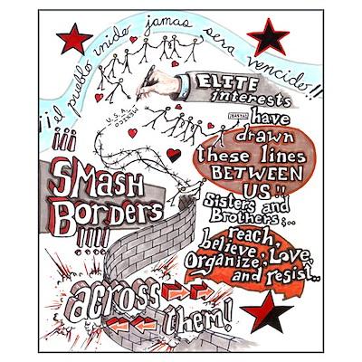 SMASH BORDERS! Poster