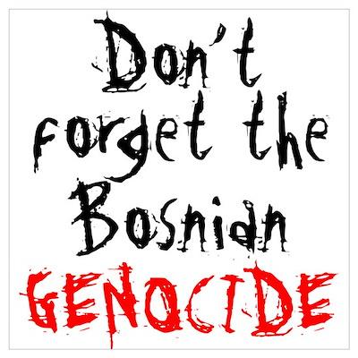 BOSNIAN GENOCIDE Poster