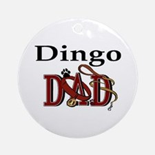 Dingo Dad Ornament (Round)