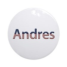 Andres Stars and Stripes Round Ornament
