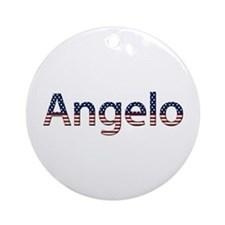 Angelo Stars and Stripes Round Ornament