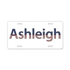 Ashleigh Stars and Stripes Aluminum License Plate