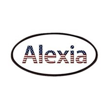 Alexia Stars and Stripes Patch