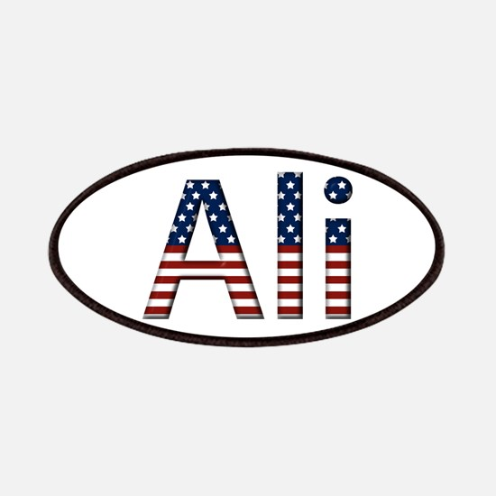 Ali Stars and Stripes Patch