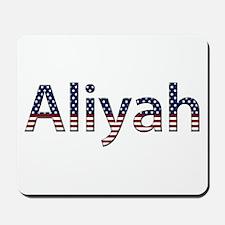Aliyah Stars and Stripes Mousepad