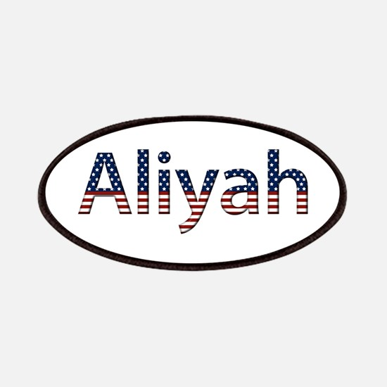 Aliyah Stars and Stripes Patch