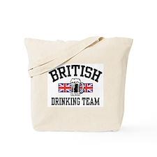 British Drinking Team Tote Bag