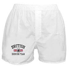 British Drinking Team Boxer Shorts