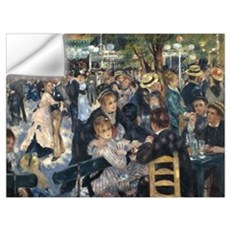Le Moulin de la Galette Wall Decal