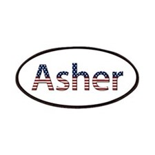 Asher Stars and Stripes Patch