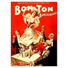 Bon Ton Burlesque Poster