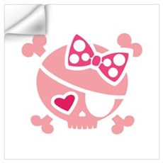 Jilly Pink Wall Decal