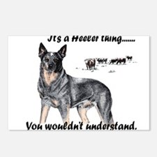 Cute Australian cattle dog Postcards (Package of 8)
