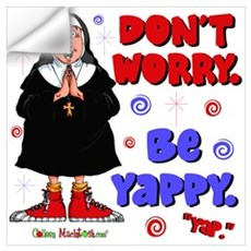 Don't Worry Be Yappy Wall Decal