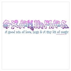 GRANDMAS (PATCH WORK) Poster