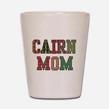 Cairn Terrier Mom Shot Glass