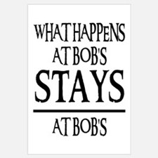 STAYS AT BOB'S