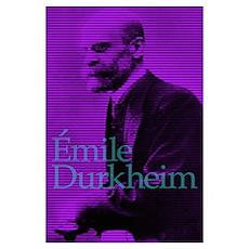 Emile Durkheim Poster