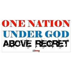 One Nation Above Regret Poster