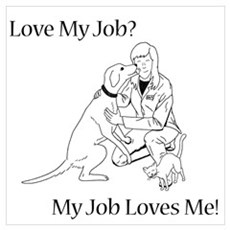 Veterinary Design (Female) Poster