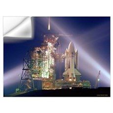 Shuttle Launch Wall Decal