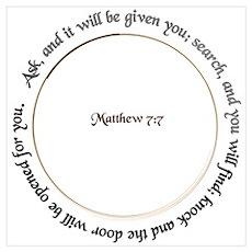 Ask, Search, Knock - Matthew Poster