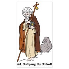 St. Anthony Canvas Art