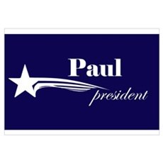 Ron Paul president Framed Print