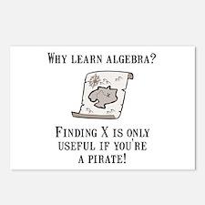 Algebra Pirate Postcards (Package of 8)