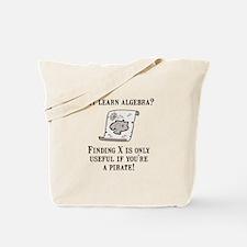 Algebra Pirate Tote Bag