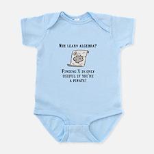 Algebra Pirate Infant Bodysuit