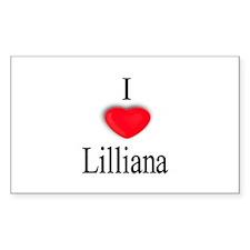 Lilliana Rectangle Decal