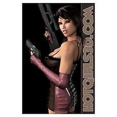 Hot Babes - Sexy Women - Hot Poster