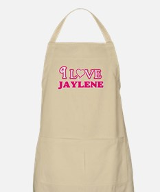 I Love Jaylene Light Apron