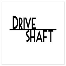 DRIVE SHAFT Framed Print